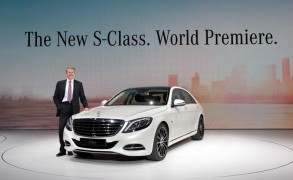 Grand unveiling of the new flagship model from Mercedes-Benz