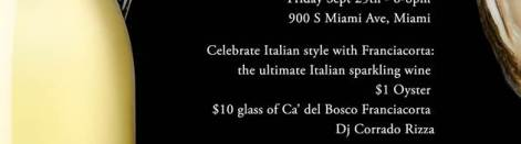 Italian Happy Hour at Toscana Divino with Ca' del Bosco