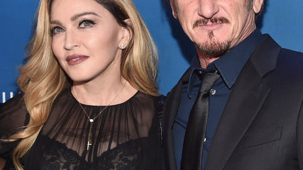 Madonna and Sean Penn arrive at the 5th Annual Sean Penn and Friends HELP HAITI HOME Gala. Credit Alberto E. Rodriguez-Getty Images For JP Hro