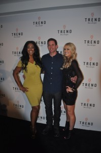 Christina and Tarek El Moussa , Kenya Moore - Photo by Serafima Fedorova