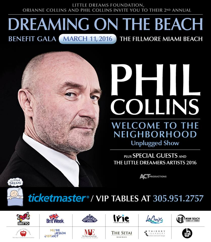 Little Dream Foundation - Phil Collins