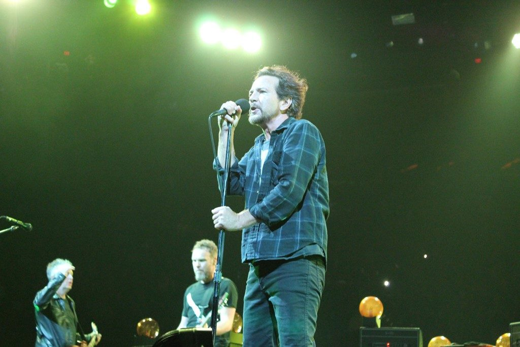 Pearl jam - photo by Tracy Destin