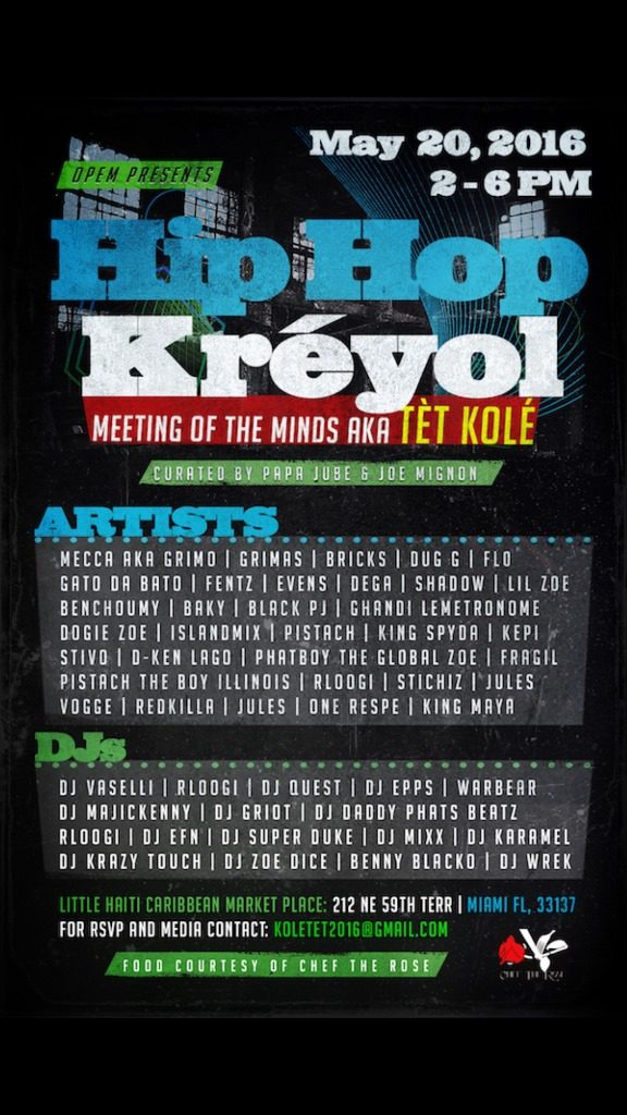 Bridging the Gap – Hip Hop Kreyol's Town Hall Meeting - L'Etage Magazine