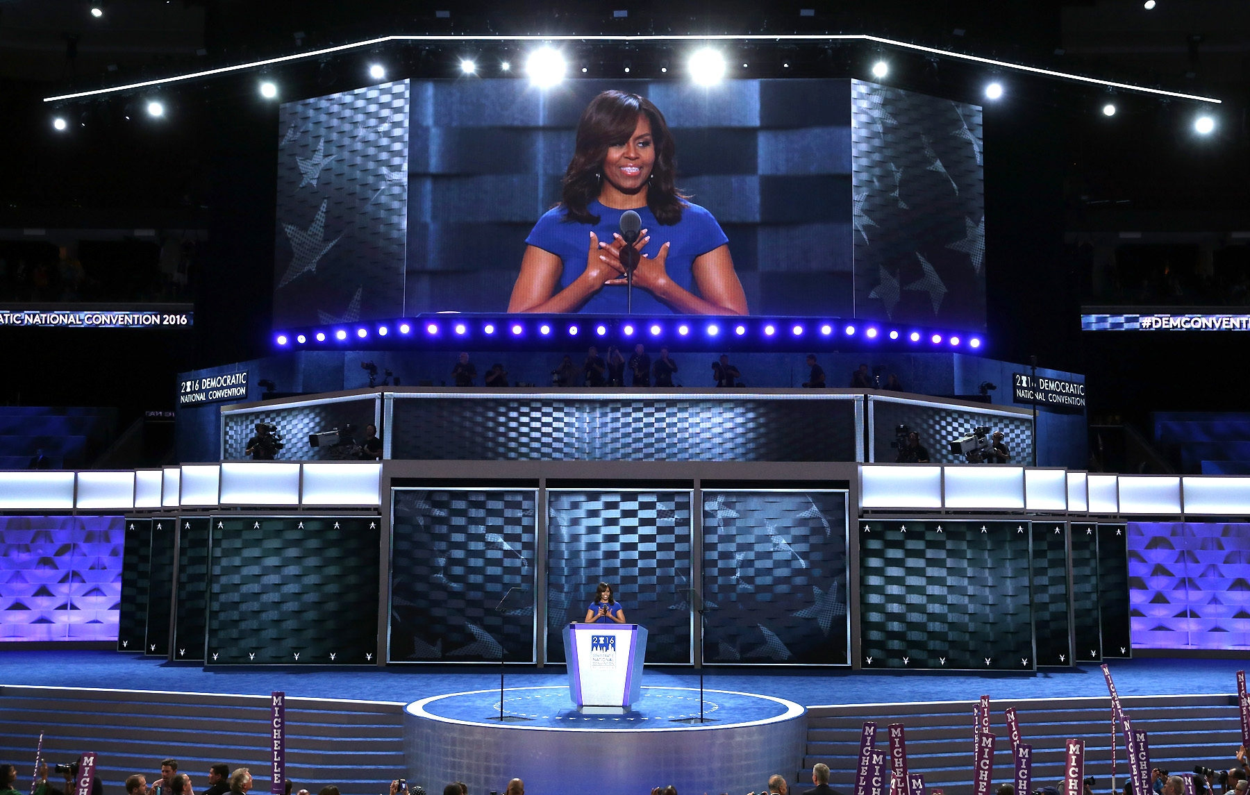 Alex WongGetty Images news national dnc Michelle Obama news convention