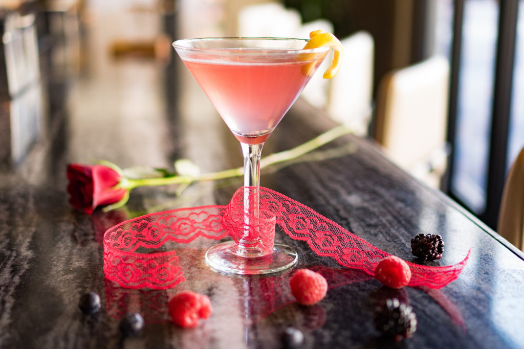 Cupids's Kiss Martini | Grille 401