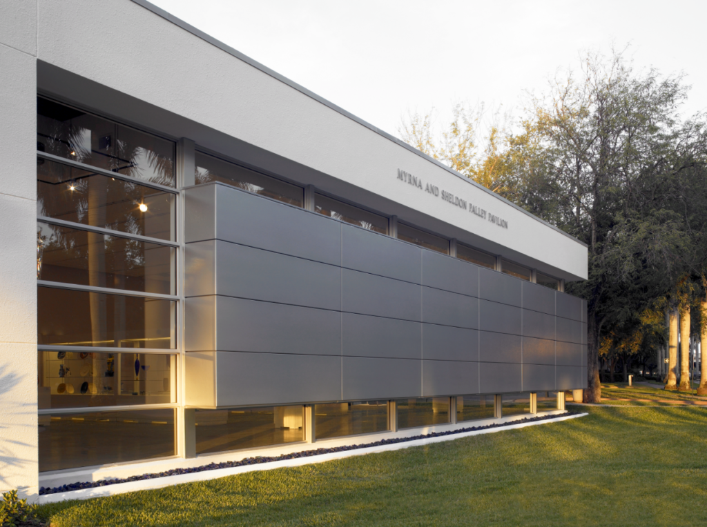 Myrna and Sheldon Palley Pavilion for Contemporary Glass and Studio Arts