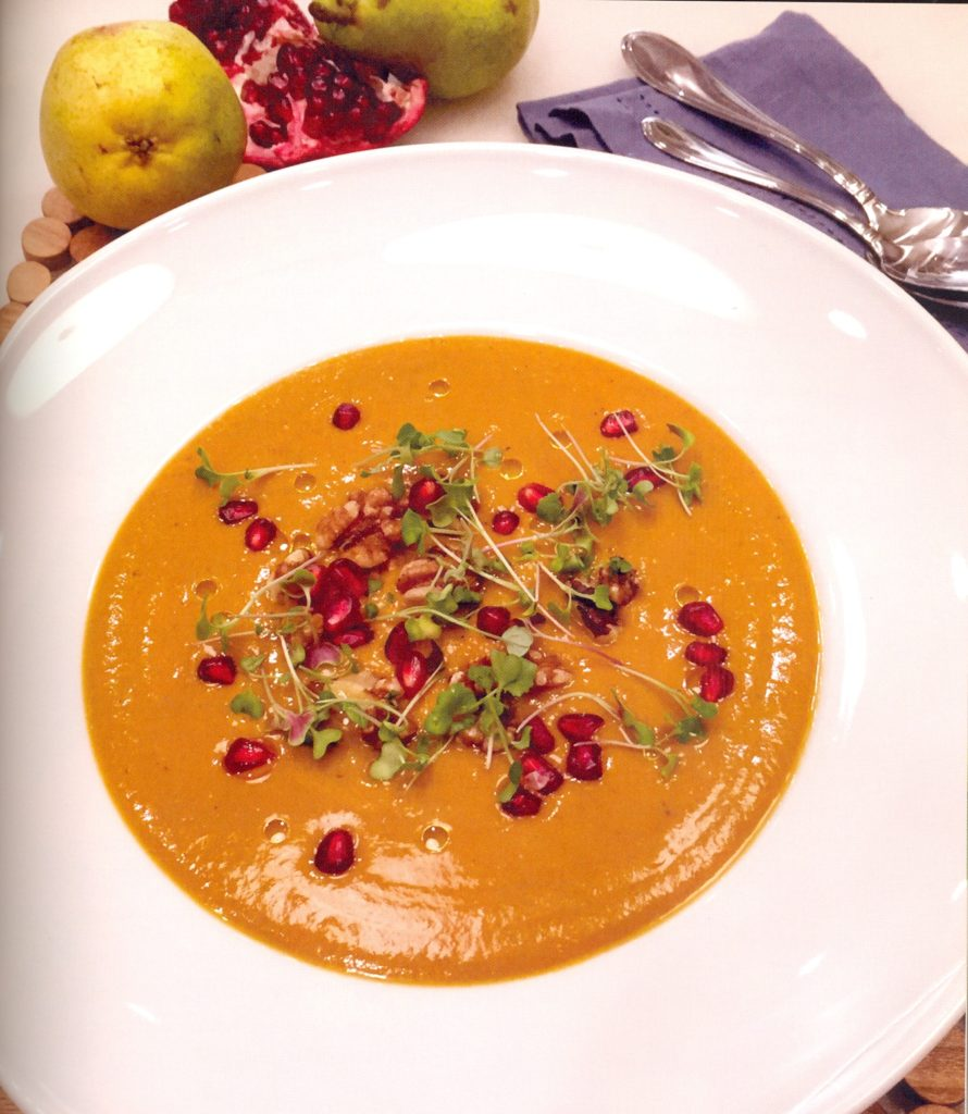 Curry Sweet Potato Leek Soup